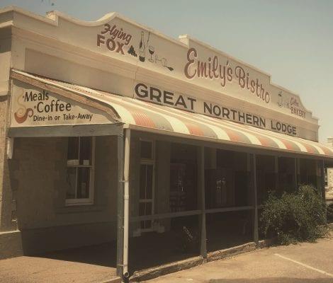 Nostalgia Emilys Cafe, Quorn, SA