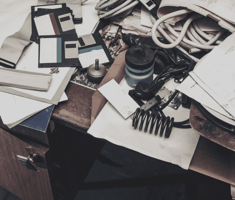How Much Clutter Are You Wading Through?